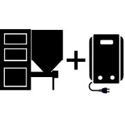 Ogrzewanie kocioł na pellet/ekogroszek + kocioł elektryczny