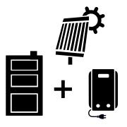 Ogrzewanie kocioł elektryczny + solar + kocioł stałopalny UO