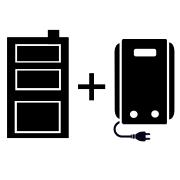 Ogrzewanie kocioł elektryczny + kocioł węglowy UO