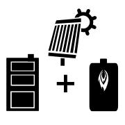Ogrzewanie kocioł olejowy + solar + kocioł węglowy UO