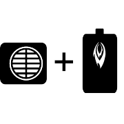 Ogrzewanie kocioł olejowy + pompa Monoblok