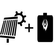 Ogrzewanie kocioł olejowy + solar