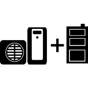 Ogrzewanie pompa ciepła Split + kocioł węglowy UO