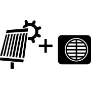 Ogrzewanie pompa Monoblok + solar