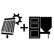 Ogrzewanie kocioł na pellet/ekogroszek + solar