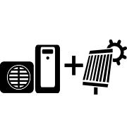 Ogrzewanie pompa ciepła Split + solar
